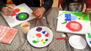 """11 Février 2020 : Atelier """"Jouer au peintre"""""""