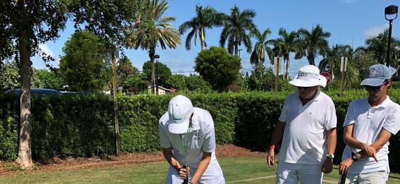 Croquet Lesson at National Croquet Center