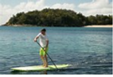 Padleboarding at Jupite Blueline 7-24-19