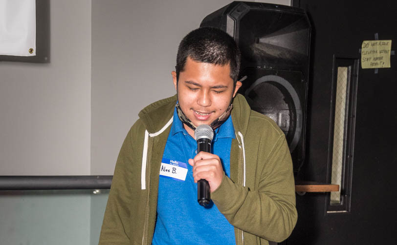 Karaoke- Alex B says me too