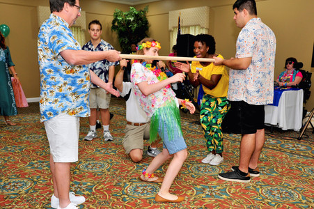 Hawaiian Themed Dance at the National Croquet Center