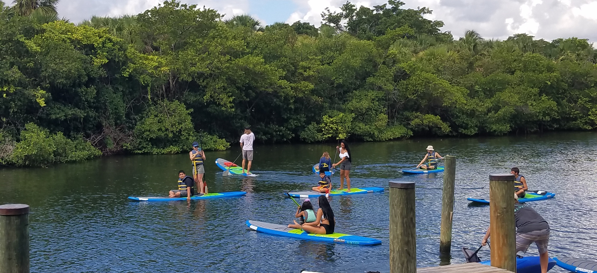 Paddle Board at Blueline & Lunch at Duffy's