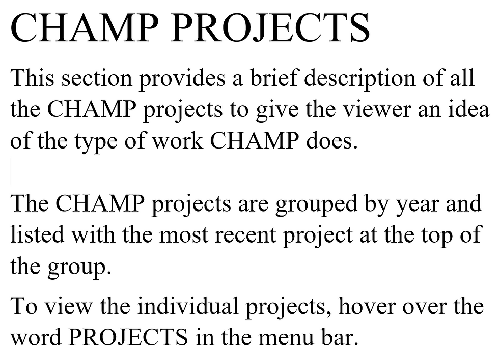 Project Summary Page Title with a PNG extension.