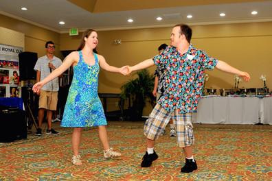 Hawaiian Themed Dance at the National Croquet Center