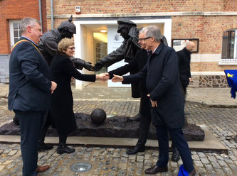 Toespraak onthulling Christmas Truce monument