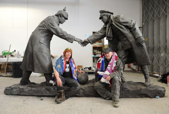 Christmas Truce statue to be unveiled at Liverpool's Bombed Out Church