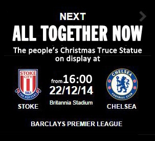 All Together Now statue at The Britannia Stadium
