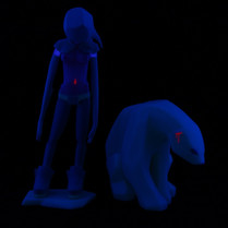 Kosplay Glow in the dark