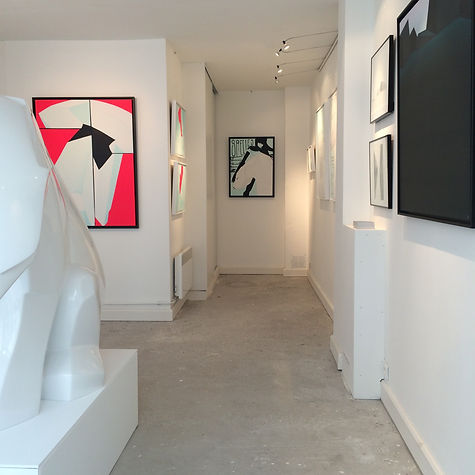 "View of ""Fresh to death"" exhibition, Ajee, Galerie Lacroix Paris, 2014"