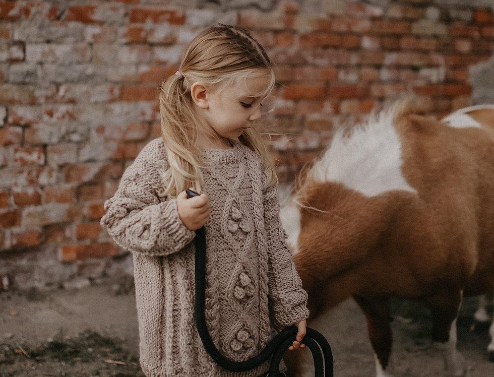 Sweter Lulu MINI beż
