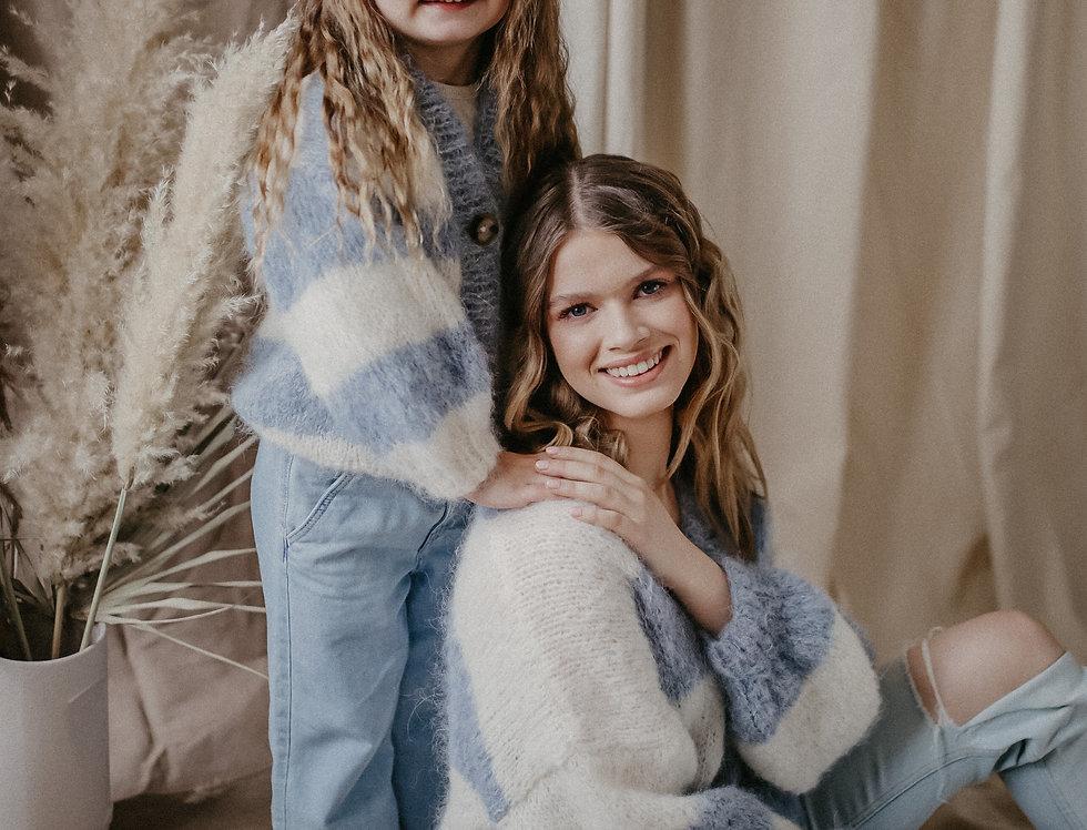 Kardigan Gia Mama&Dziecko niebieski