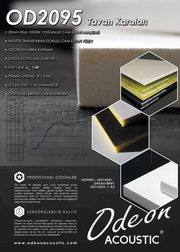 OD2095 Akustik Tavan Paneli