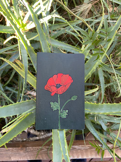 Small Poppy Journal ($20)