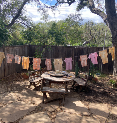 Botanically Dyed T-shirts ($45)