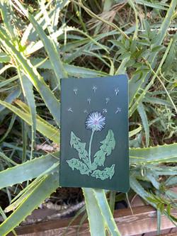Small Dandelion Journal ($20)