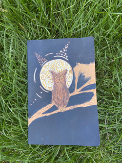 Large Owl Journal ($30)