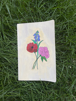 Large Flower Journal ($30)