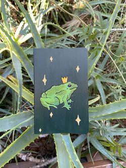 Small Frog Prince Journal ($20)