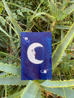 Small Moon Journal ($20)