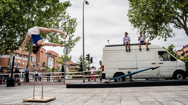 Festival de Circo en Alcobendas, Madrid. 15 de mayo 2021