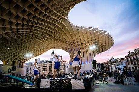 Espectáculo Tartana de Trocos Lucos Cía. Festival Circada Sevilla