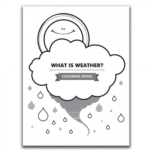 What is Weather? Coloring Book