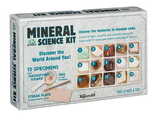 Rock Science Kit - Toysmith
