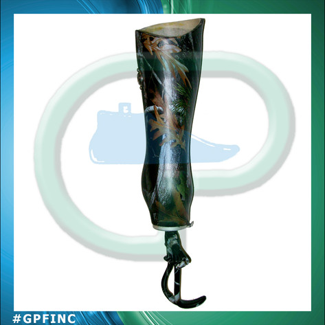 BE Socket with Custom Hydrographics and hook
