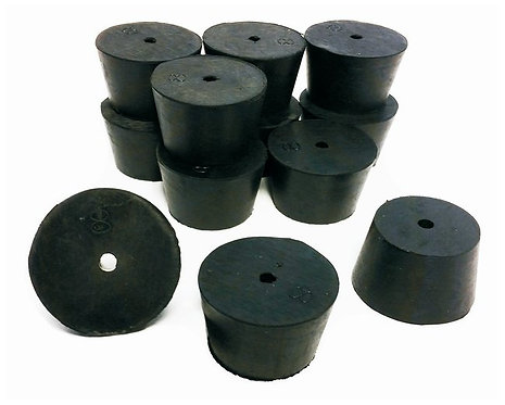 Rubber Stopper, 1-Hole