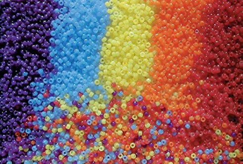 UV Beads, Assorted Colors 2oz