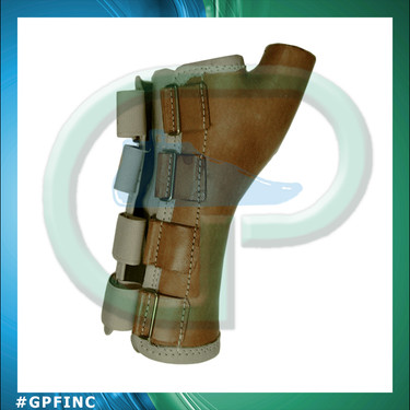 Custom Leather Wrist Orthosis