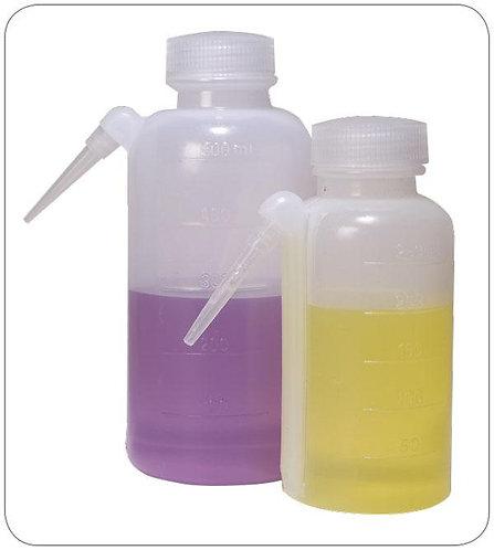 Wash Bottles, Unitary Polypropolene