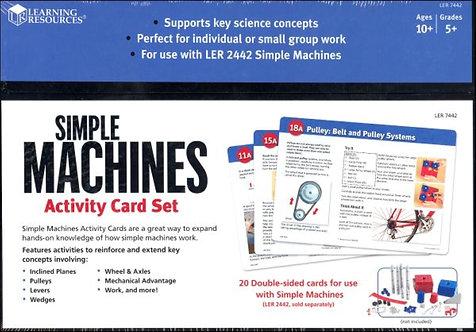 Simple Machines Activity Cards Set