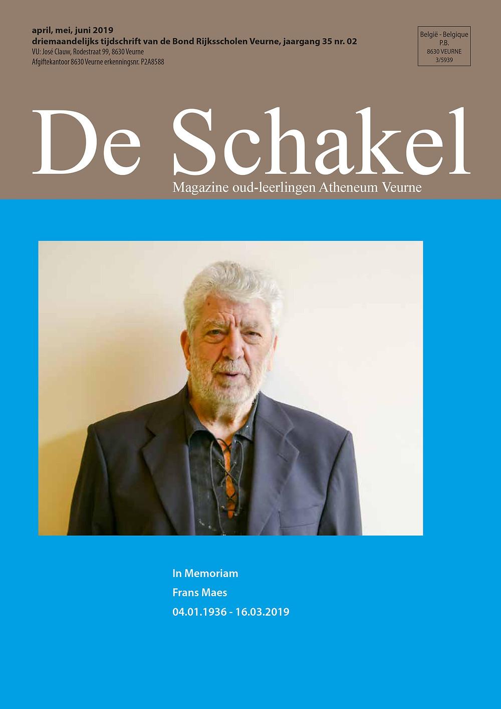 De Schakel, maart 2019, cover