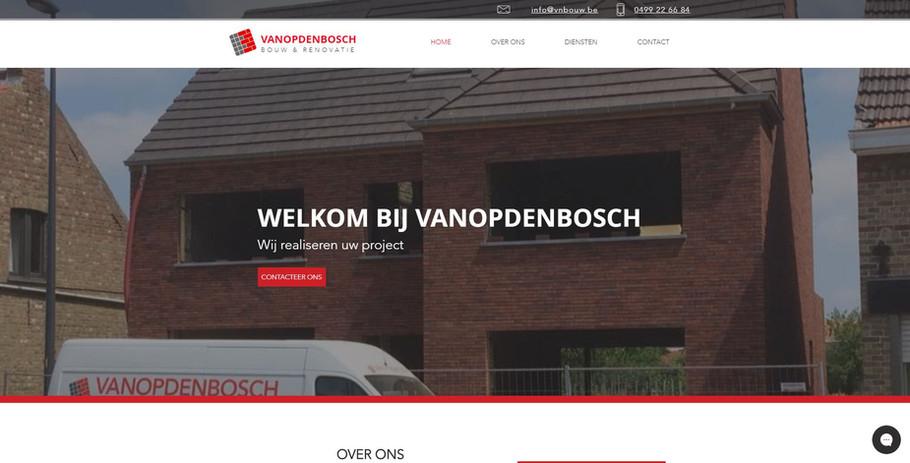 Bouw Vanopdenbosch