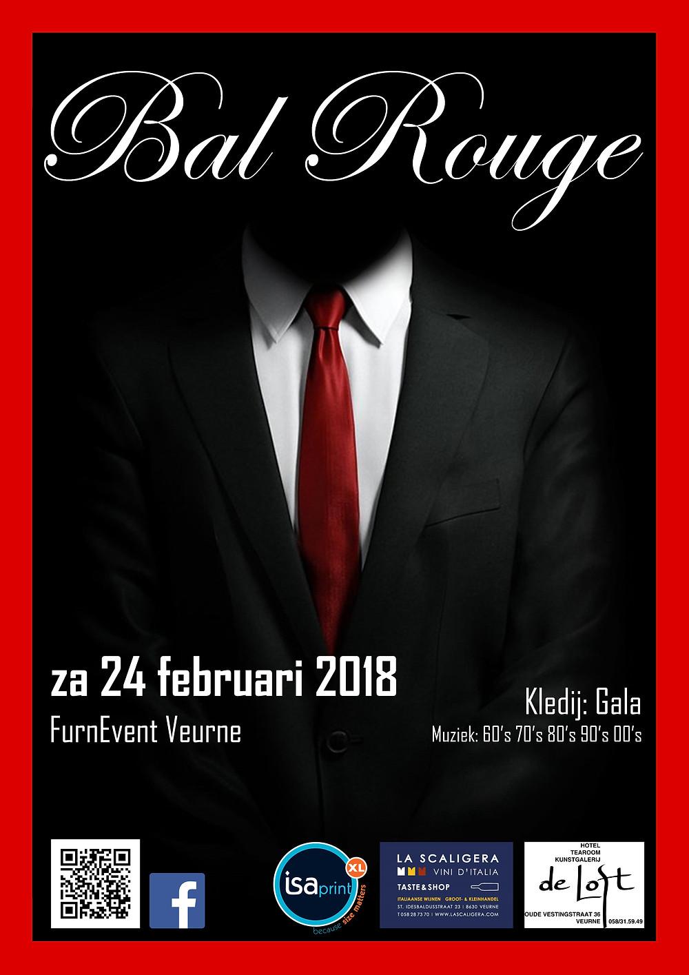Bal Rouge 2018 Affiche