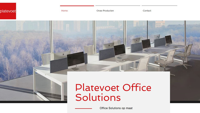 Platevoet Office Solutions ONLINE
