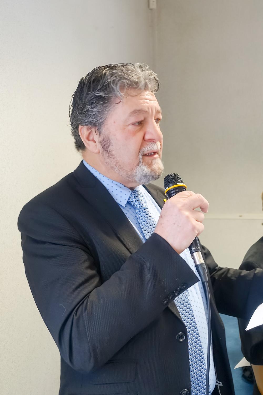 José Clauw, voorzitter Bond Atheneum Veurne, speech