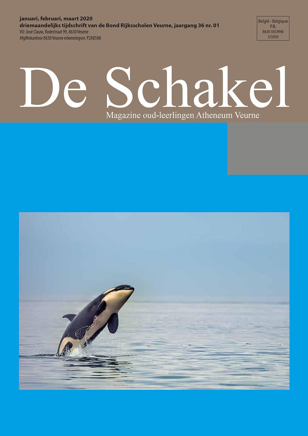 De Schakel, magazine oud-leerlingen atheneum Veurne