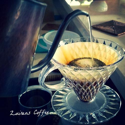 日本 KEY COFFEE鑽石型(樹脂)手沖濾杯