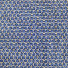Tissu Japonais Bleu nuit  - 100% coton OekoTex.jpg