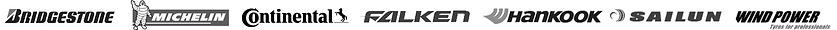 Lastebildekk Bridgestone Michelin Continental Falken Hankook