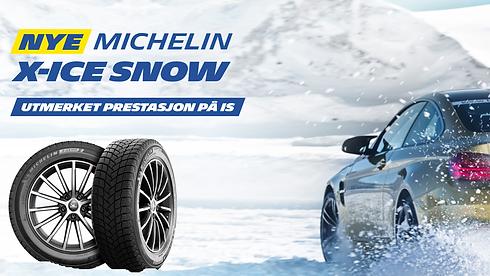 Michelin vinterdekk