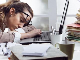 Três passos para reduzir o cansaço no trabalho