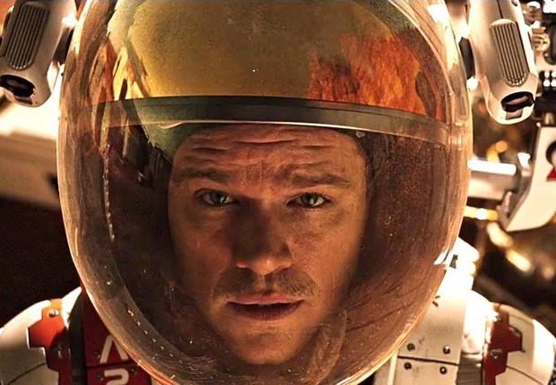 Matt Damon em Perdido em Marte - reprodução