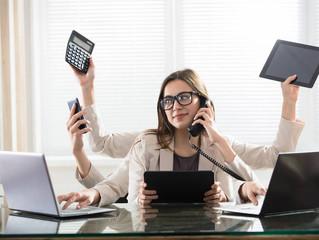 Na era da multitarefa, produz mais quem faz uma coisa de cada vez
