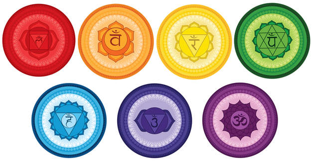 chakra symbols coloring pages - photo#36