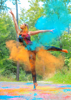 Holi Color Photography