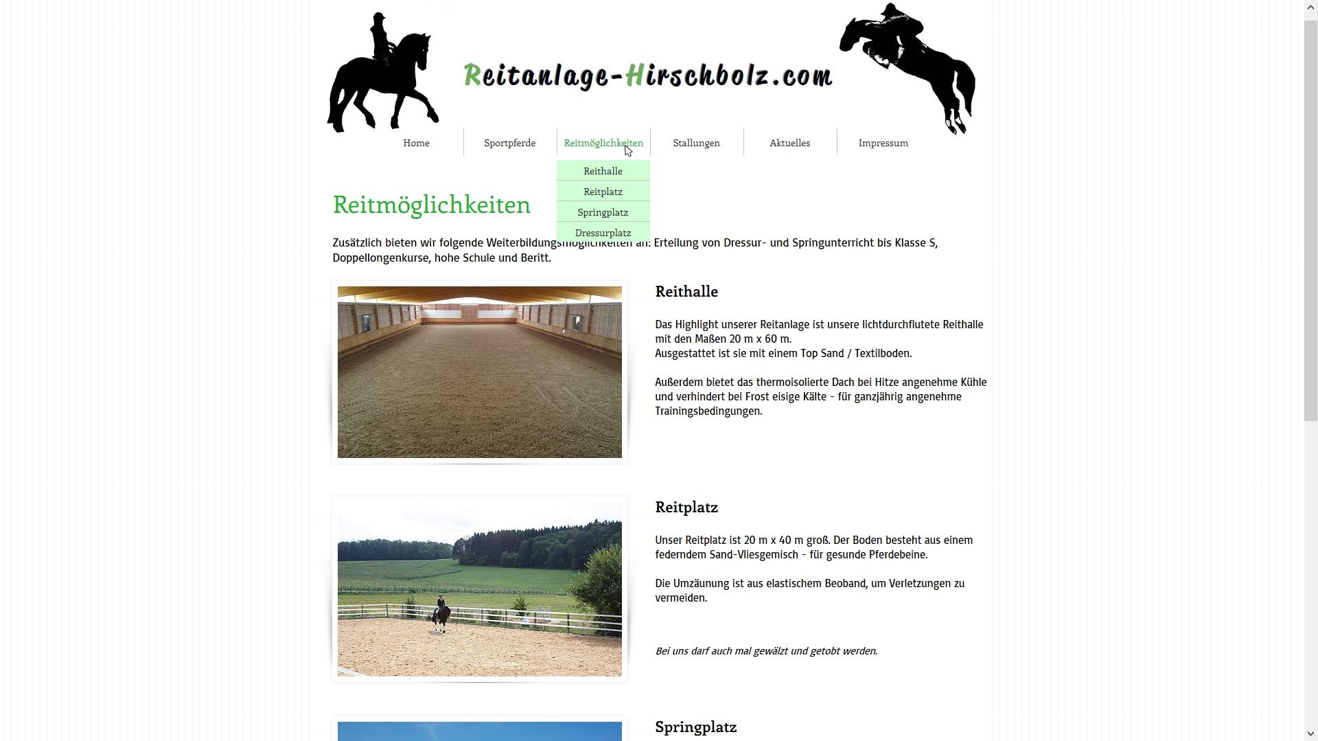 Reitanlage Hirschbolz