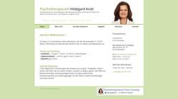 Psychotherapie Hildegard Krott